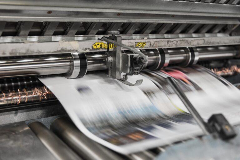 Trykking - Trykkeri - Digitaltrykk